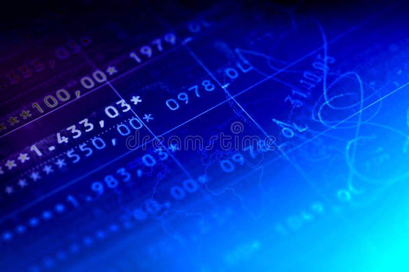 Account Balance. Close up of a bank account. Works great as a background element.Easy colorization stock photography
