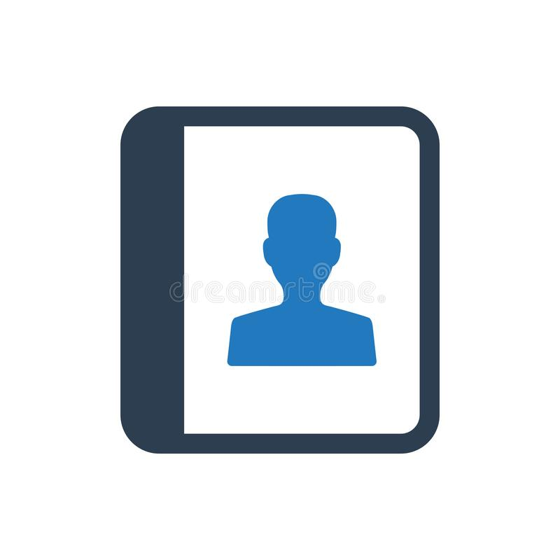 Account Book Icon royalty free illustration