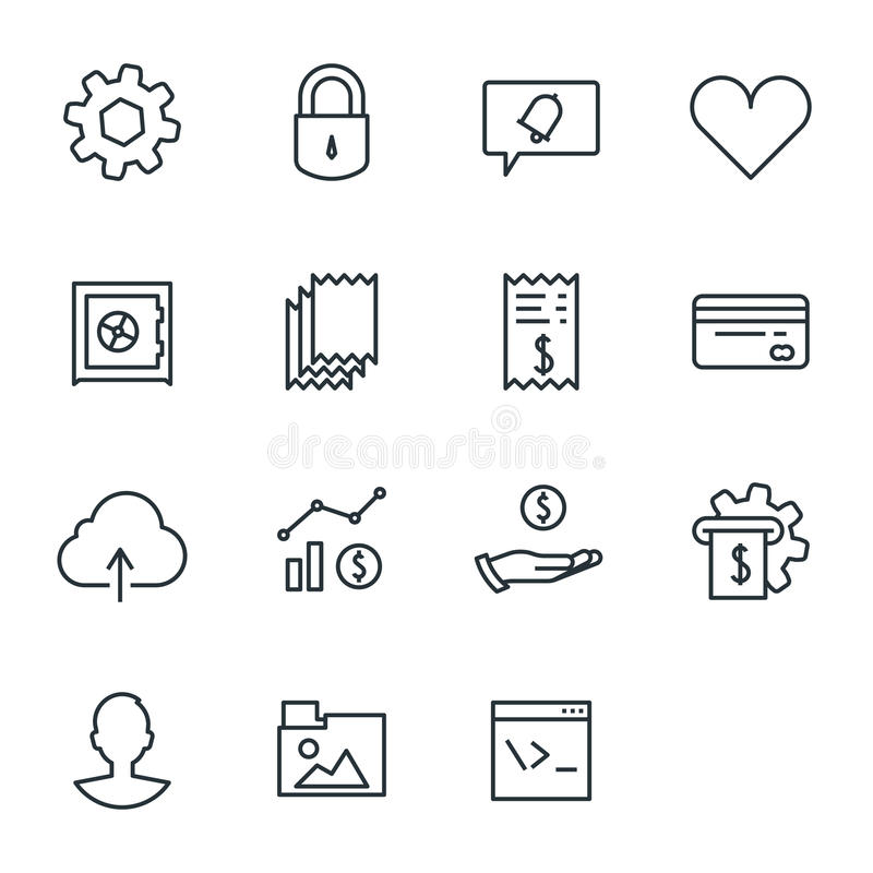 Account dashboard royalty free stock images