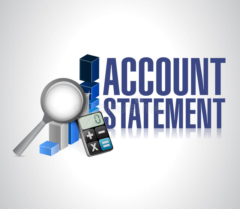 Download Account Statement Business Background Stock Illustration - Image: 34651393