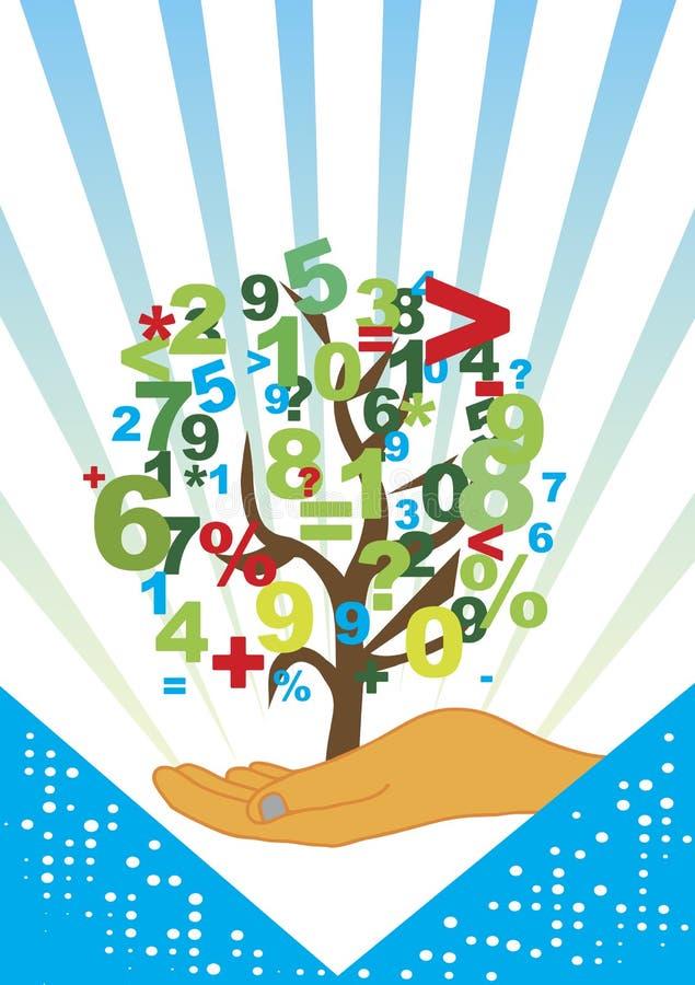 Accountancy tree. Abstract vector illustration