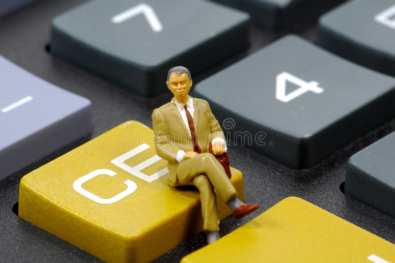 Accountant 2 royalty free stock photography