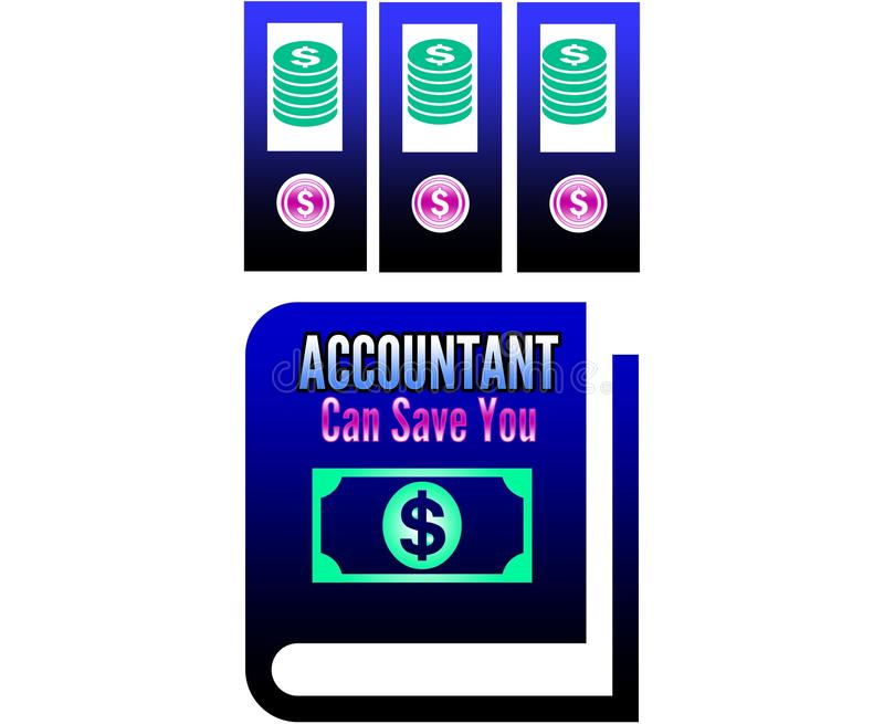 Accountant royalty free stock image