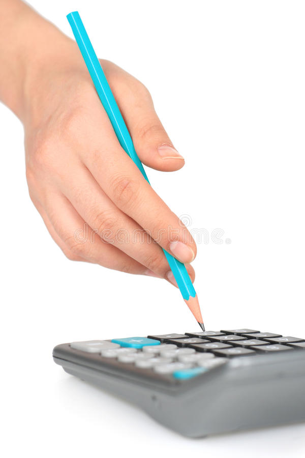 Download Accounting. stock image. Image of calculator, business - 23601733