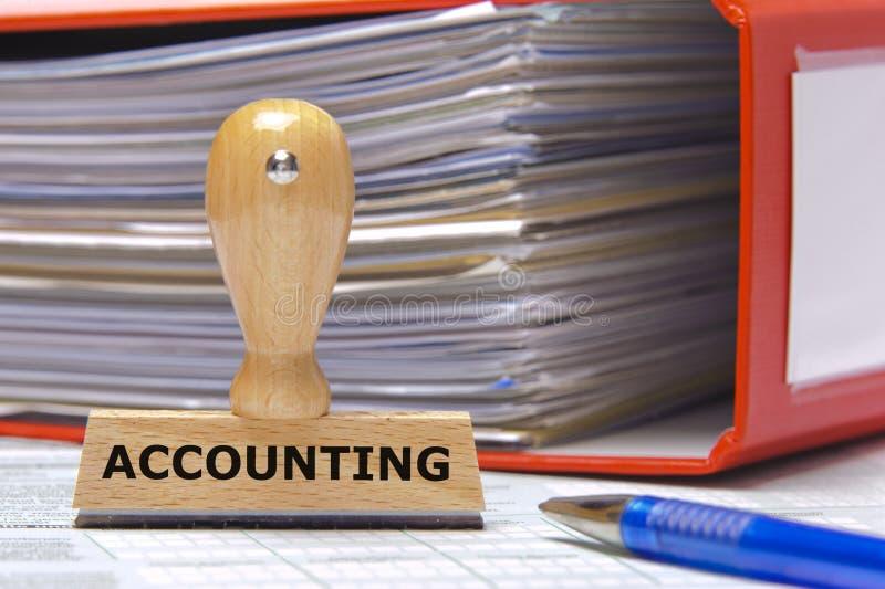 Accounting royalty free stock photo