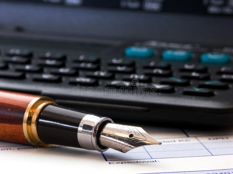 Accounting stock image