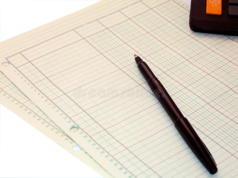 Download Accounting stock photo. Image of budget, write, records - 521974