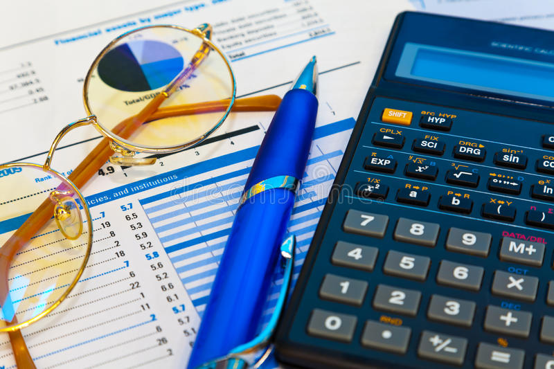 Accounting concept royalty free stock photography
