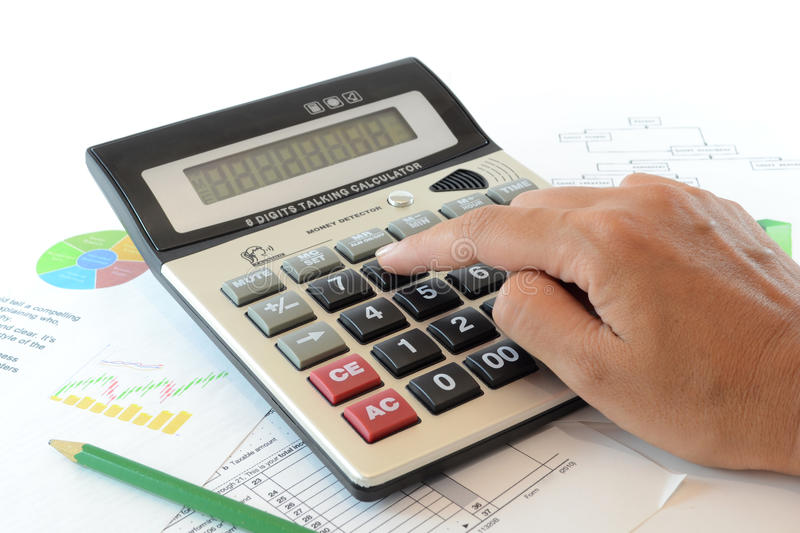 Accounting concept stock images