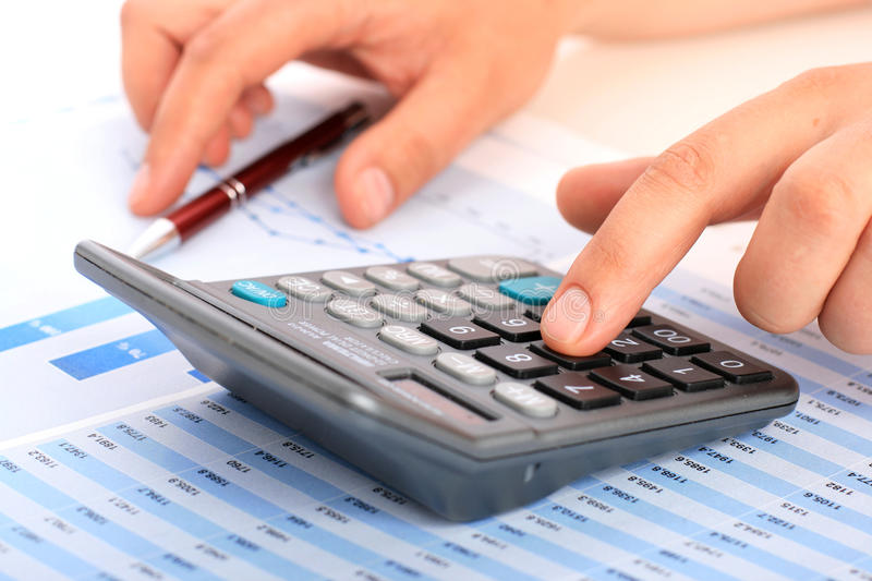 Download Accounting. stock photo. Image of income, press, money - 30505522