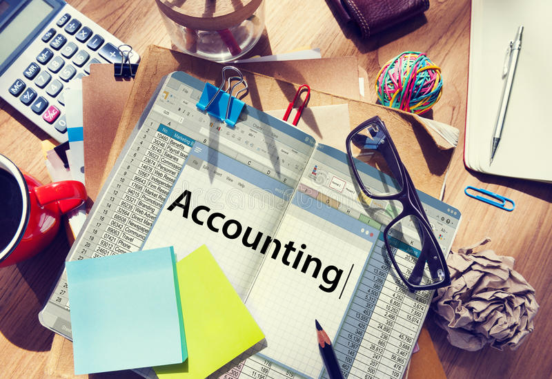 Accounting Finance Money Audit Concept.  stock photography