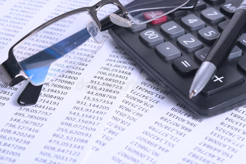Accounting and Finance royalty free stock photos