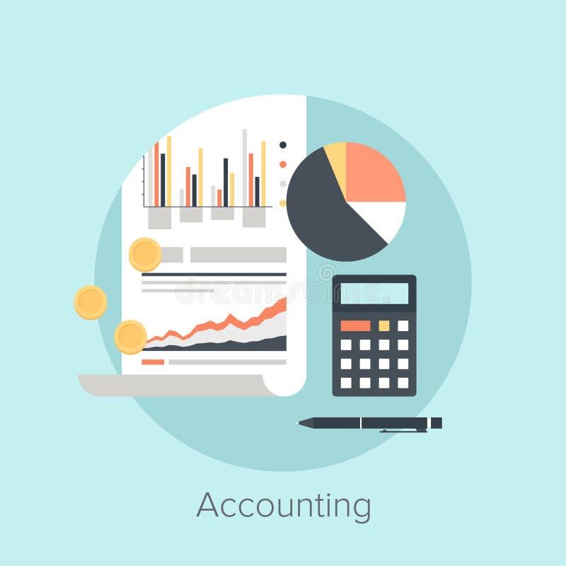 Accounting stock illustration
