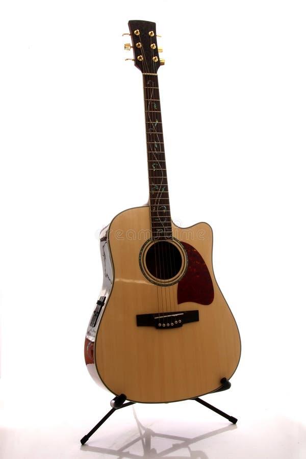 accoustic гитара стоковое изображение