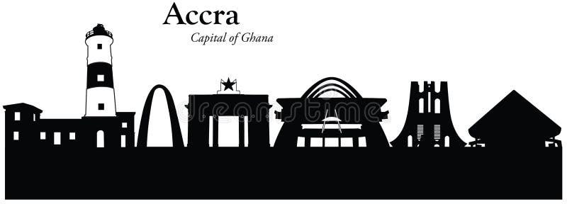 Accra, Ghana illustration libre de droits