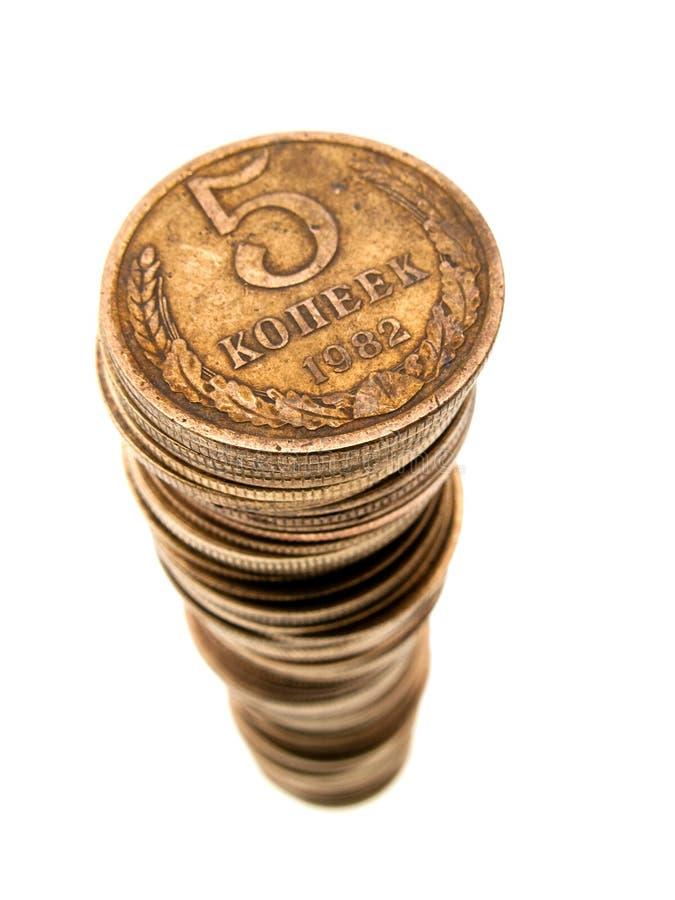 Accroissement de pièce de monnaie image stock