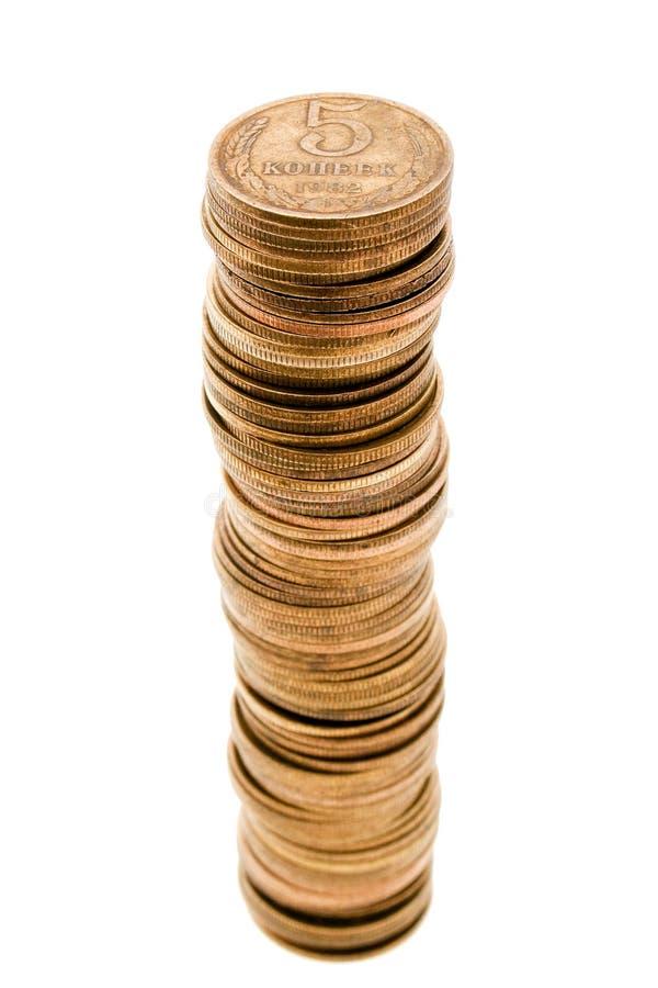 Accroissement de pièce de monnaie photo stock