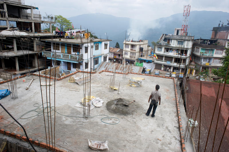 Accroissement du Sikkim images stock