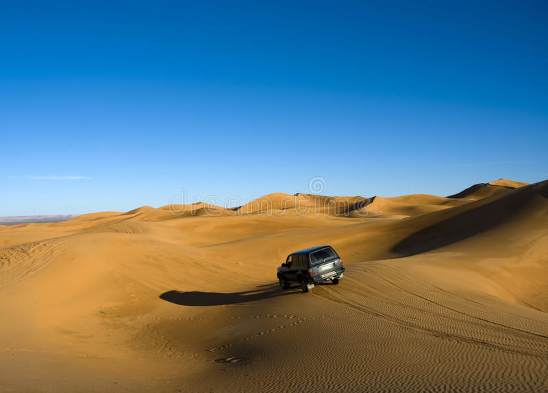 Download Accross sahara desert stock image. Image of desert, mahrib - 9436233