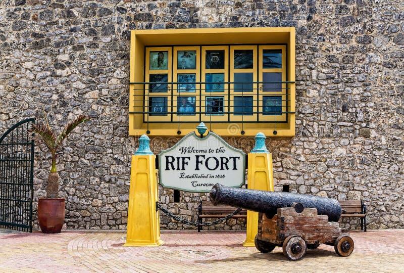 Accueil à Rif Fort photo libre de droits