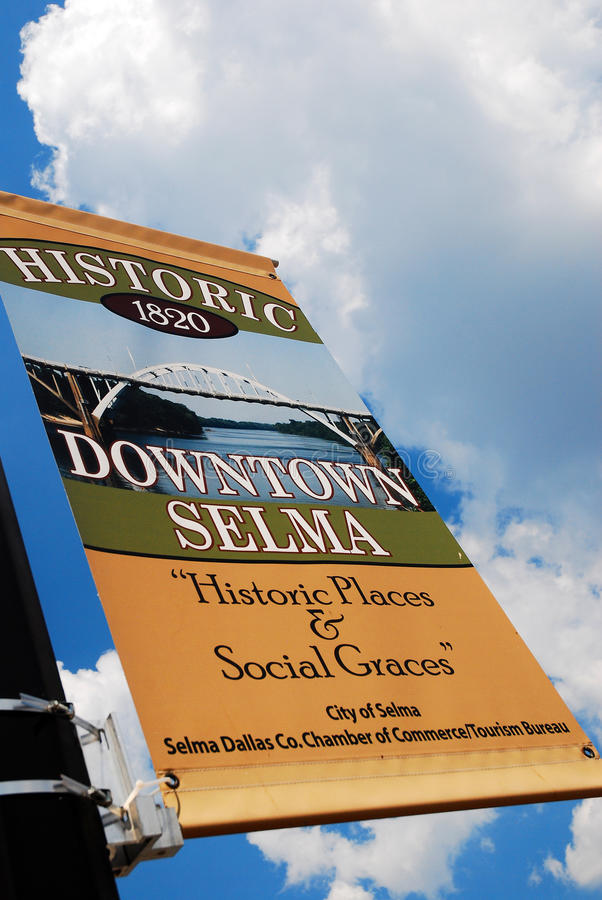 Accueil à Selma Alabama photos libres de droits