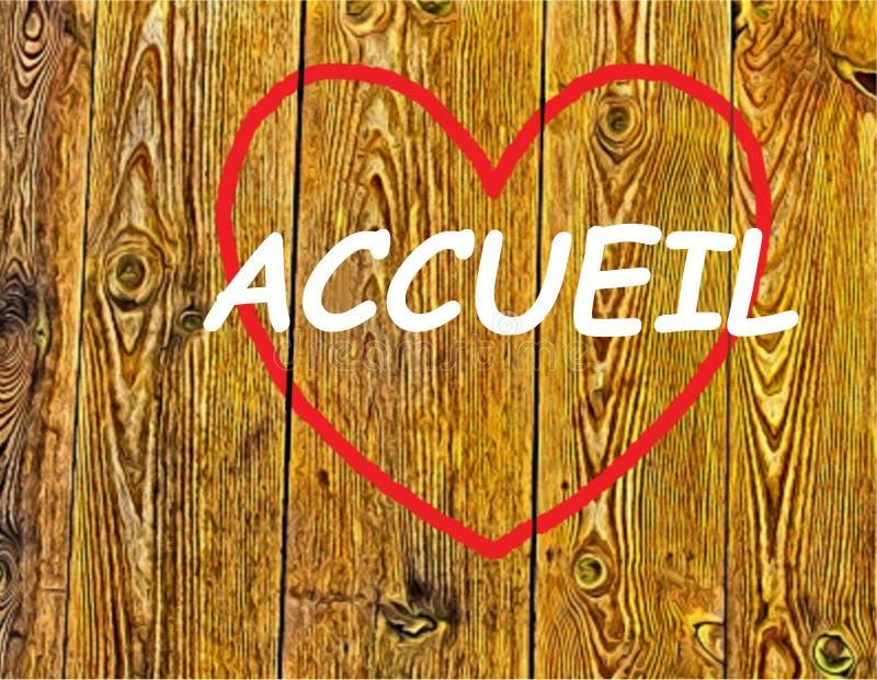 Accueil stock foto's