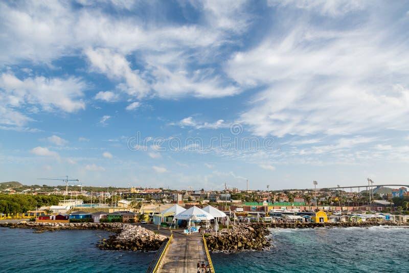 Accueil vers le Curaçao photos libres de droits