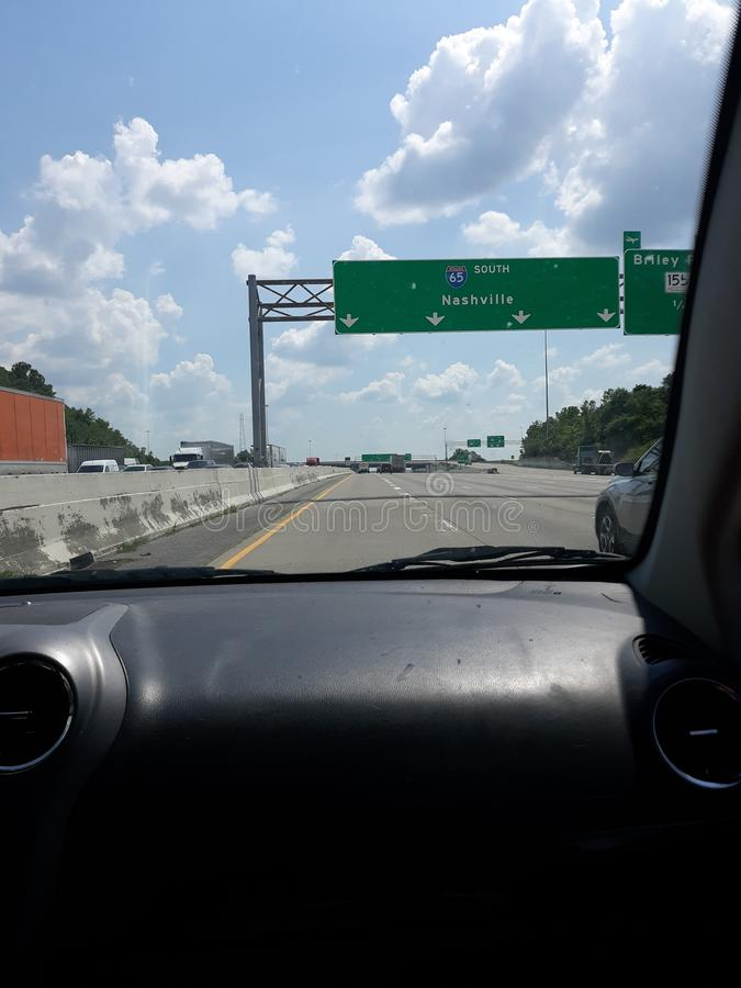 Accueil vers Nashville ! L'endroit de toutes les occasions ! images libres de droits