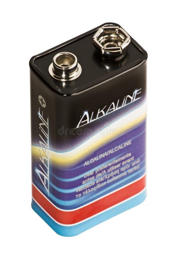 Accumulateur alcalin photo stock