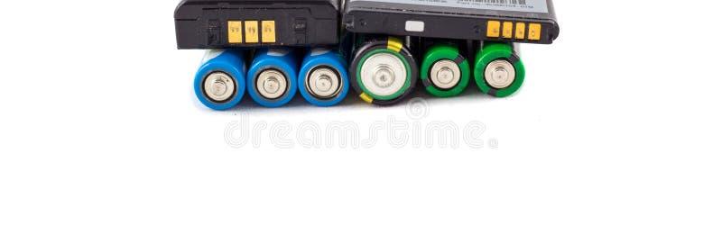 Accumulateurs et batteries image stock