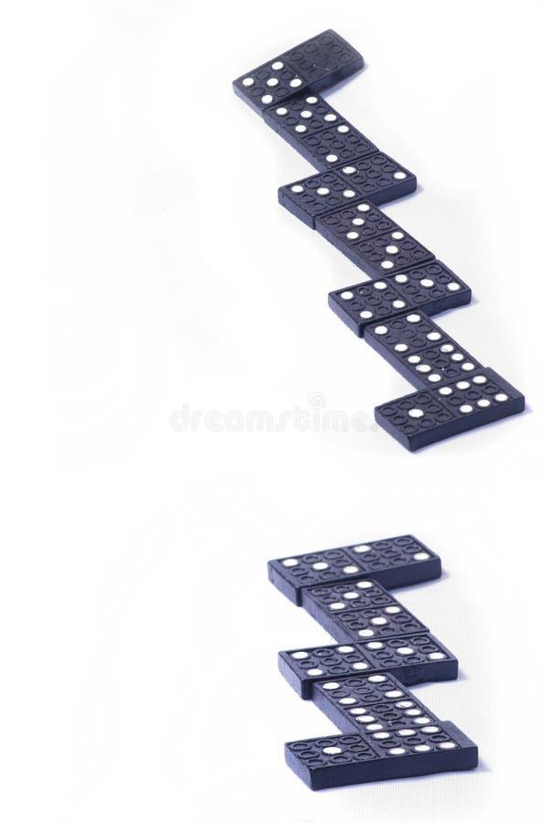 Accumulation de pierres de domino photos stock