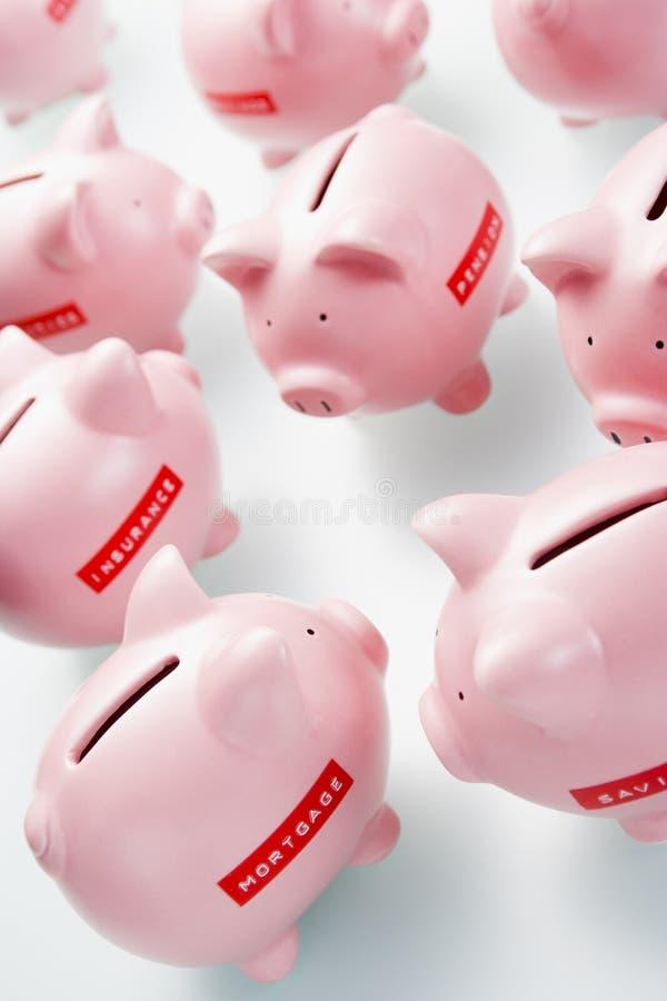 Download Accumulation Of Piggy Banks Stock Image - Image: 7731721