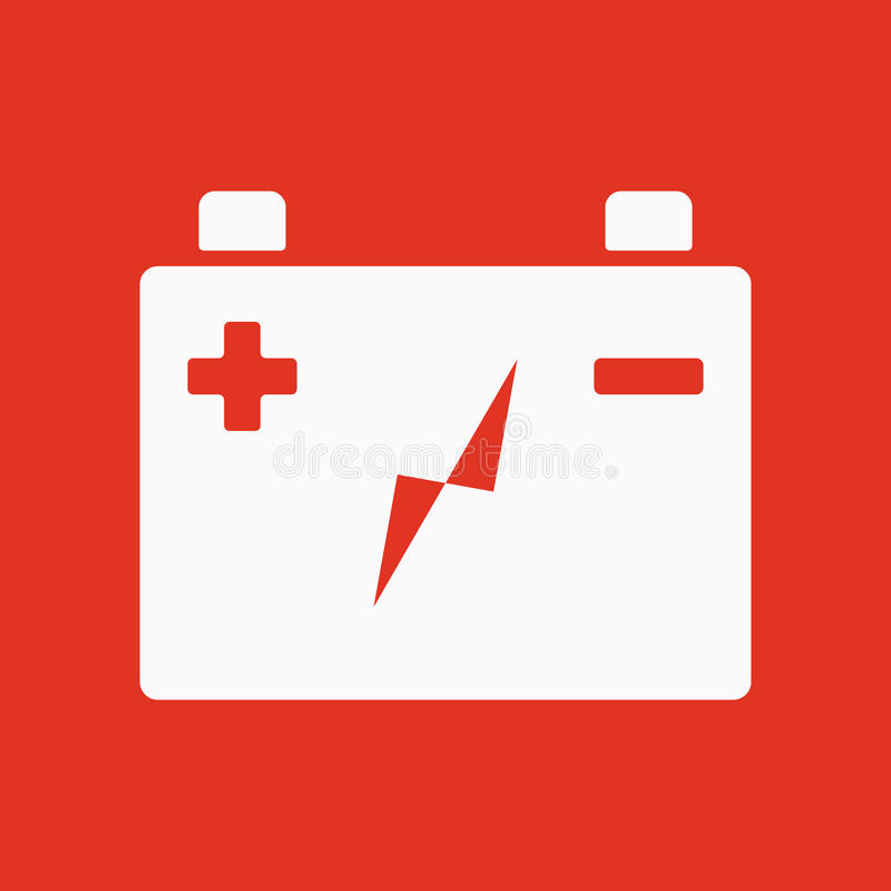 The Accumulator Battery Icon. Power And Electric, Energy ...