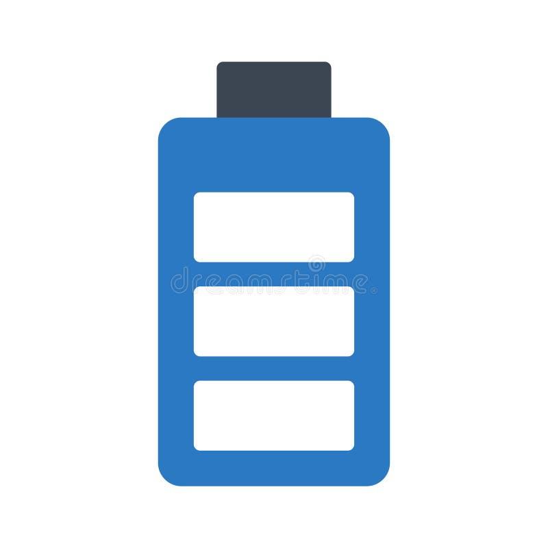 Accumulator glyph colour vector icon. Accumulator colour icon for website design and development, app development. Premium pack vector illustration