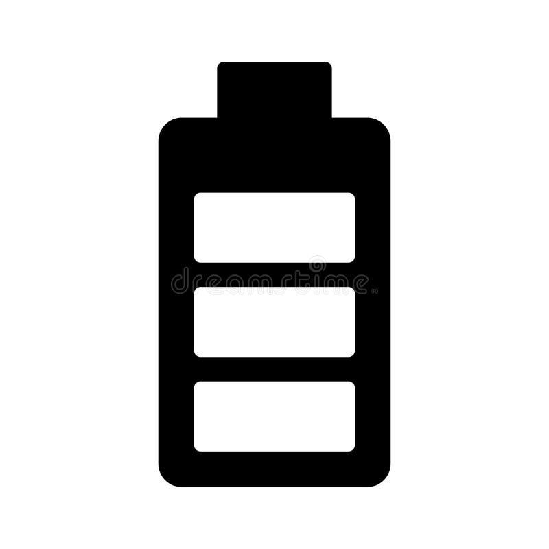 Accumulator glyph flat vector icon. Accumulator flat icon for website design and development, app development. Premium pack stock illustration