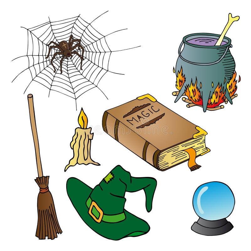 Accumulazione 02 di tema di Halloween royalty illustrazione gratis
