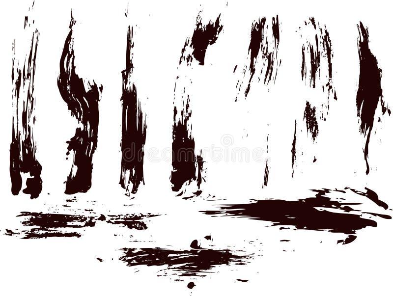 Download Accumulazione Degli Splatters Della Vernice Di Vettore Illustrazione Vettoriale - Illustrazione di gout, estratto: 7315596