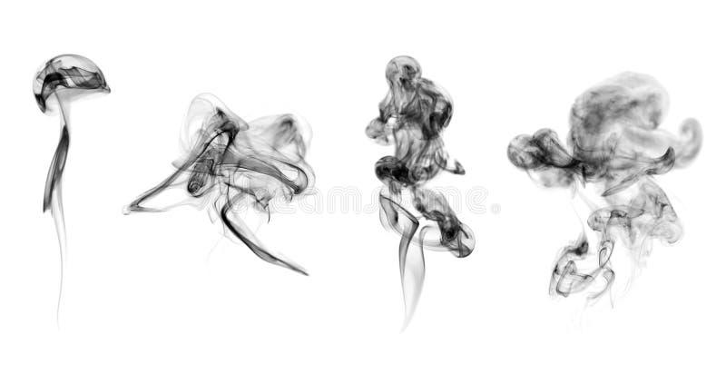 Accumulazione del fumo illustrazione di stock