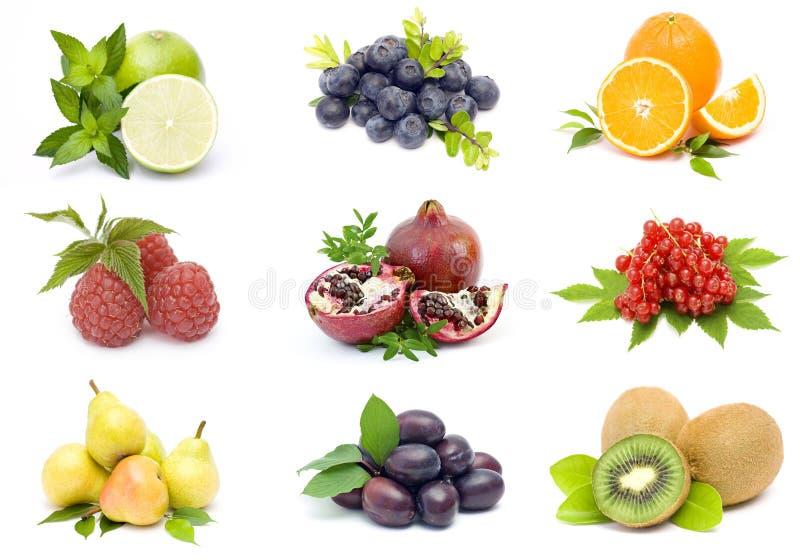 Accumulazione della frutta fresca immagini stock
