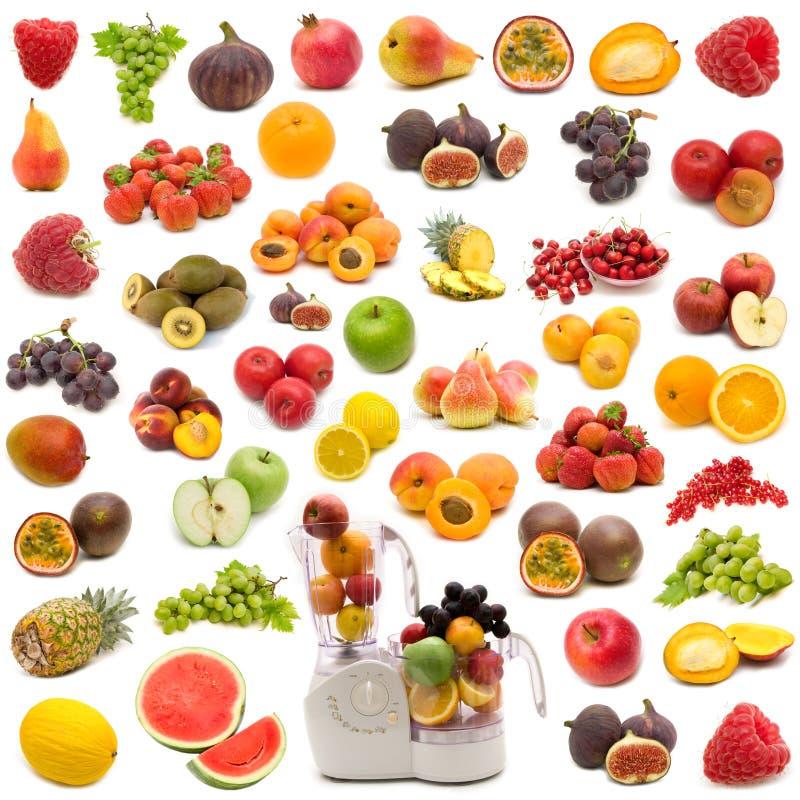 Accumulazione della frutta sugosa fresca fotografia stock