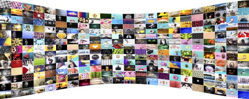 Accumulazione delle immagini immagine stock libera da diritti