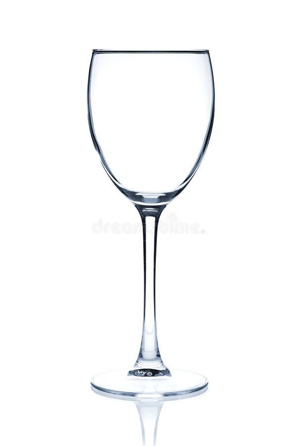 Accumulazione di vetro di cocktail - vino bianco immagine stock libera da diritti
