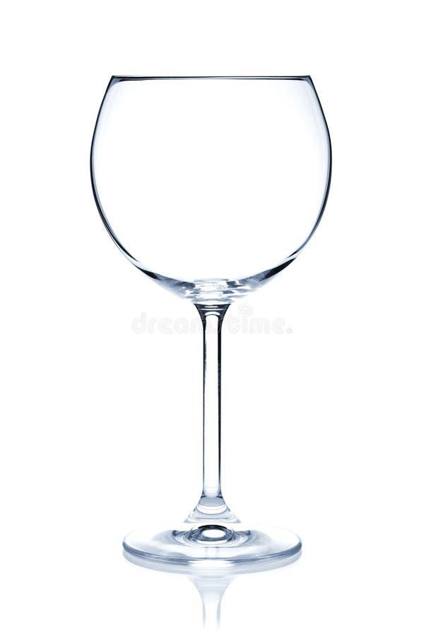 Accumulazione di vetro di cocktail - vino rosso immagini stock