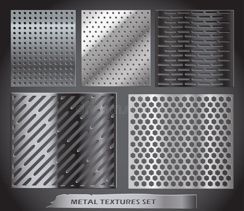 Accumulazione netta del metallo illustrazione vettoriale