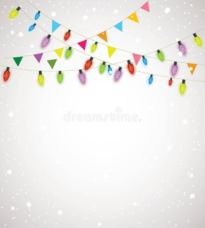 Download Christmas lights stock illustration. Image of holiday - 30274258