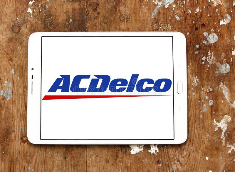 ACDelco汽车零件品牌商标 图库摄影