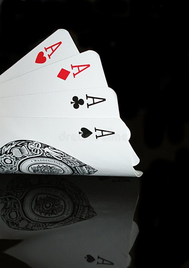 Ace!!! lizenzfreie stockbilder