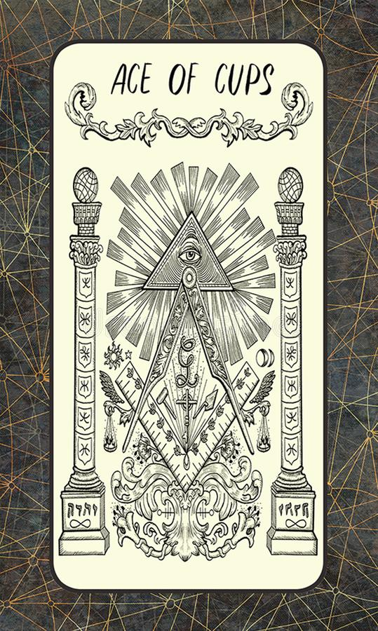 Ten Of Pentacles  The Magic Gate Tarot Card Stock