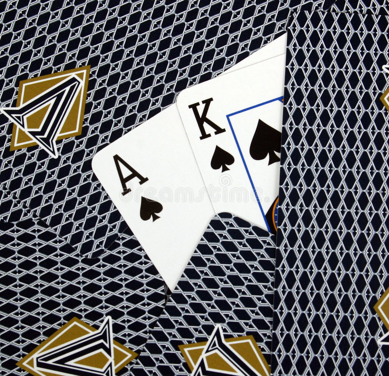 Download Ace King Hole Cards stock photo. Image of trump, card - 2317408