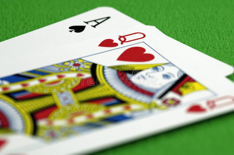 Download Ace And The Queen Royalty Free Stock Photos - Image: 1172438